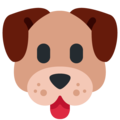 Dog Face on Twitter Twemoji 12.0