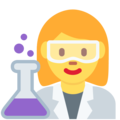 Woman Scientist on Twitter Twemoji 12.0