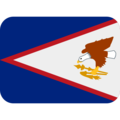 Flag: American Samoa on Twitter Twemoji 12.0