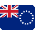Flag: Cook Islands on Twitter Twemoji 12.0