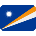 Flag: Marshall Islands on Twitter Twemoji 12.0