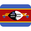 Flag: Swaziland on Twitter Twemoji 12.0