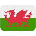 Flag: Wales on Twitter Twemoji 12.0