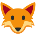 Fox Face on Twitter Twemoji 12.0