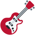 Guitar on Twitter Twemoji 12.0