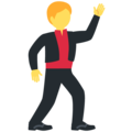 Man Dancing on Twitter Twemoji 12.0