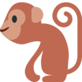 Monkey on Twitter Twemoji 12.0