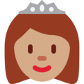Princess: Medium Skin Tone on Twitter Twemoji 12.0