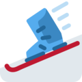 Skis on Twitter Twemoji 12.0