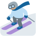Skier, Type-4 on Twitter Twemoji 12.0