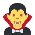 Vampire on Twitter Twemoji 12.0