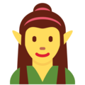Woman Elf on Twitter Twemoji 12.0