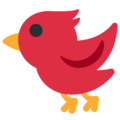Bird on Twitter Twemoji 12.1