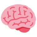 Brain on Twitter Twemoji 12.1