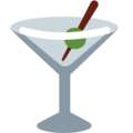 Cocktail Glass on Twitter Twemoji 12.1