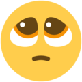Pleading Face on Twitter Twemoji 12.1