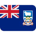 Flag: Falkland Islands on Twitter Twemoji 12.1