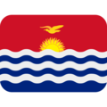 Flag: Kiribati on Twitter Twemoji 12.1