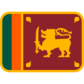 Flag: Sri Lanka on Twitter Twemoji 12.1