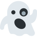 Ghost on Twitter Twemoji 12.1