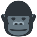 Gorilla on Twitter Twemoji 12.1