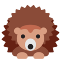 Hedgehog on Twitter Twemoji 12.1
