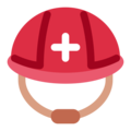 Rescue Worker's Helmet on Twitter Twemoji 12.1