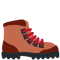 Hiking Boot on Twitter Twemoji 12.1