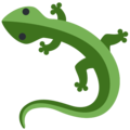Lizard on Twitter Twemoji 12.1