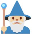 Mage: Medium-Light Skin Tone on Twitter Twemoji 12.1
