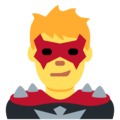 Man Supervillain on Twitter Twemoji 12.1