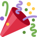 Party Popper on Twitter Twemoji 12.1