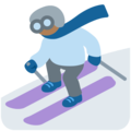 Skier, Type-5 on Twitter Twemoji 12.1