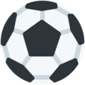 Soccer Ball on Twitter Twemoji 12.1