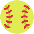 Softball on Twitter Twemoji 12.1