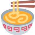 Steaming Bowl on Twitter Twemoji 12.1