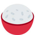 Cooked Rice on Twitter Twemoji 12.1.3