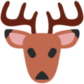 Deer on Twitter Twemoji 12.1.3