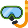 Diving Mask on Twitter Twemoji 12.1.3