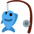 Fishing Pole on Twitter Twemoji 12.1.3