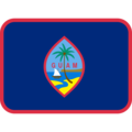 Flag: Guam on Twitter Twemoji 12.1.3