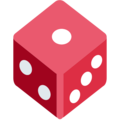 Game Die on Twitter Twemoji 12.1.3