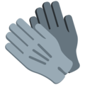 Gloves on Twitter Twemoji 12.1.3