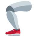 Mechanical Leg on Twitter Twemoji 12.1.3