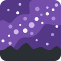 Milky Way on Twitter Twemoji 12.1.3