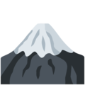 Mount Fuji on Twitter Twemoji 12.1.3