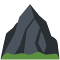 Mountain on Twitter Twemoji 12.1.3