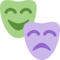 Performing Arts on Twitter Twemoji 12.1.3