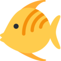 Tropical Fish on Twitter Twemoji 12.1.3