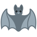 Bat on Twitter Twemoji 12.1.4